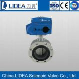 Flange elettrico Type - 2 Way Butterfly Valve per Fluid Control