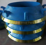 Части дробилки HP100 HP200 HP300 HP400 HP500 запасные для Metso