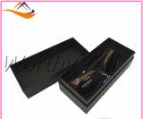 Rectángulo de regalo de papel de encargo de lujo impreso venta al por mayor para los vidrios de empaquetado