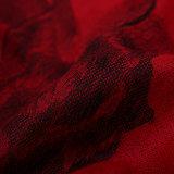 Красная шаль способа шарфа зимы Pashmina цветка для повелительницы