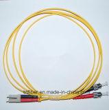 Cavo di zona ottico duplex della fibra di LC/St MP