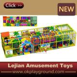 Campo da giuoco dell'interno dei bambini di plastica di alta qualità di prezzi bassi (T1505-2)