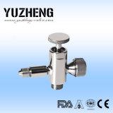 Fabricante sanitario de la válvula de la muestra de Yuzheng