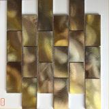 Baumaterial-Mischfarben-Aluminiummetallmosaik-Fliese (FYL122)