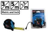 Fita de medição de aço do ABS de Fixtec 5m com borracha do plástico de TPR