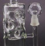 Handblown abnehmbares Glas-rauchender Wasser-Rohr-Huka Soem-Service
