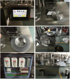 Mini máquina de enchimento horizontal semiautomática da cápsula
