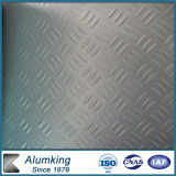 Tre Bar Embossed Aluminium Sheet per Kitchen Floor