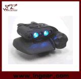 Intensidades del azul 3 de la luz LED del casco de la luz LED del casco de seguridad de Airsoft