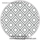 昇進の綿の印刷の熱い販売の円形のビーチタオル