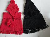 Jogo de Acrílico da senhora Inverno Morno Confeção de malhas de venda quente