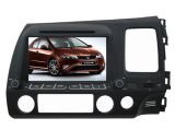 Honda Civic 2006-2011年のGPSのためのクォードCore Android 4.4.4 Car DVD Fit Navigation Radio Audio Video Player