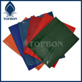 Tela revestida Tb040 del PVC del poliester de la buena calidad