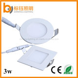2016 neues Heißes-Selling Slim LED Ceiling AC85-265V 3W 270lm 3years Warranty Round Lamp Panel Light