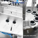 El llenado automático del tubo de plástico sellado de la máquina de corte