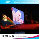 SMD 1r1g1b Miet-LED-Bildschirm, P6.25 druckgießende im Freien LED Aluminiumanschlagtafel