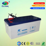Long Service Lifetime 12V 200ah Solar Battery for Panel