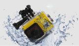 A fábrica vende por atacado 2.0inch 170 a câmera subaquática ultra larga 4k da ação da lente 30m WiFi do ângulo do grau