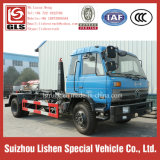 Dongfeng Hook Arm Garbage Truck 190HP 4*2 Export in Africa Arm Roll Garbage Collection Refuse Collector Truck