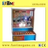 Parte superiore cinese che vende macchina di gioco a gettoni