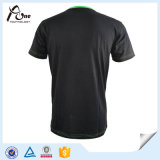 Usure de fonctionnement de T-shirt de sublimation de sports de plaine