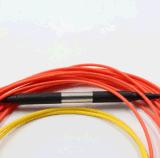 FC/APC de Optische Wijze die van de vezel Patchcord conditioneren