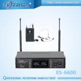 UHF Professionele Audio Multifrekwentie en Metaal 2 van de Stijl van de Manier de Draadloze Microfoon van het Kanaal