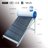Panneaux solaires faits maison de basse pression pour chauffer l'eau