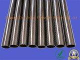 Труба волокна углерода с изоляцией и хорошим качеством
