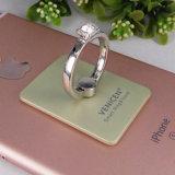 Soporte caliente del anillo de Samrt de la venta para el montaje del teléfono celular del sostenedor del iPhone con el diamante