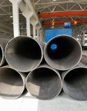 Transporte ou estrutura com a tubulação de aço da parede grossa