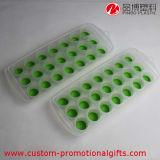 緑色のカスタムシリコーンの動物の形の角氷の皿