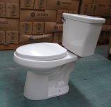 Toilette en deux pièces d'ADA de rendement élevé de promotion