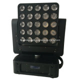 Nuit Club DEL RGBW 25PCS Moving Head DEL Matrix Light