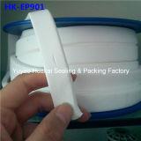 Высокотемпературный белый прилипатель собственной личности расширил ленту соединения уплотнения резьбы PTFE