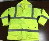 Отражательный тип 3 En куртки безопасности