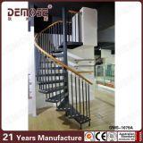 Escalera espiral de interior de la escalera espiral del hierro labrado (DMS-1079)