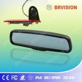 Sistema del monitor del espejo de coche de 3.5 pulgadas con la cámara de encargo de Brakelight