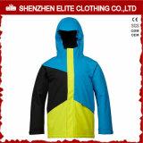 2016 homens dos revestimentos de esqui do inverno impermeáveis