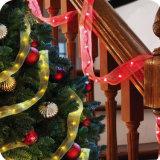 Van het LEIDENE van de Vorm van de ster de Lichten van de Fee Koord van Kerstmis met Op batterijen