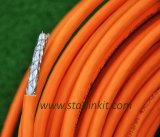 кабель LAN Cat7 10g 650MHz защищаемый SFTP с курткой LSZH