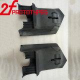 ABS plástico preto nos protótipos