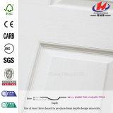 Piel blanca de madera de la puerta de la pintura de fondo de la alta calidad (JHK-010)