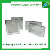 Belüftung-Fenster-steifer Papiergeschenk-Foto-Kasten