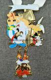 고품질 그만두어진 고대 금관 악기 메달