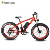 Montaña gorda Ebike del neumático del fabricante de la bicicleta de la nieve eléctrica gorda de la arena