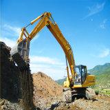 Excavador de la correa eslabonada del excavador de la rueda del excavador