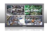 el monitor industrial del LCD de la vigilancia del CCTV 32-Inch utiliza el establo 24 horas de funcionamiento redondo del reloj