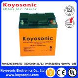 la soupape de 12V 7.5ah a réglé la batterie d'acide de plomb d'UPS de batterie de Rechargeble