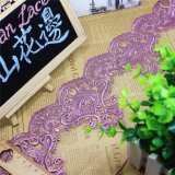 Nuovo merletto della maglia di immaginazione della guarnizione del ricamo del commercio all'ingrosso delle azione della fabbrica di disegno per l'accessorio degli indumenti e le tessile domestiche